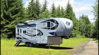 Quick Tour of The New Arctic Fox Grande Ronde 29-5T Fifth Wheel