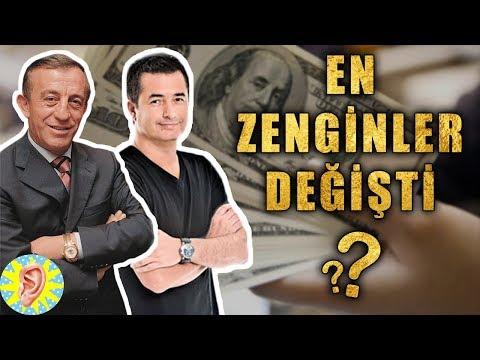 Türkiye'nin En Zengin 10 Kişisi (Güncel Liste)