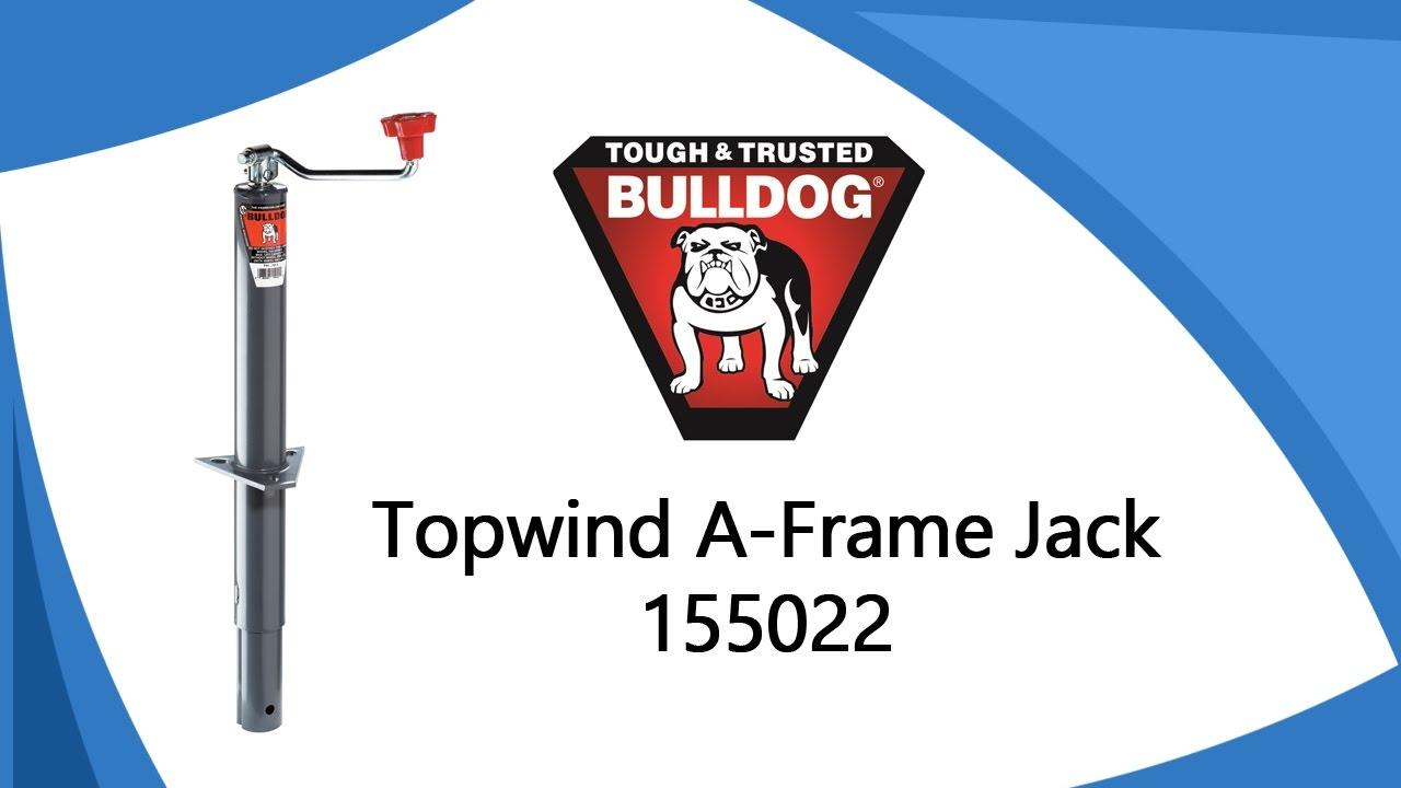 Bulldog Topwind A-Frame Jack 155022 - YouTube