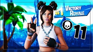 MI CHIAMANO NABBO ... VINCO CON 11 KILL - FORTNITE VICTORY ROYALE 11 KILL SOLO