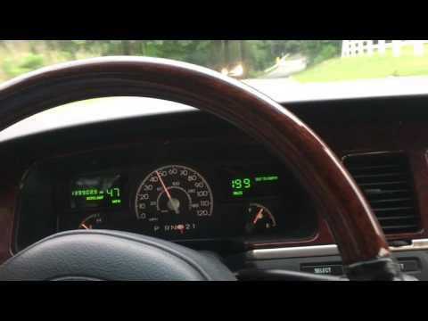 2003 Lincoln Town Car Test Drive