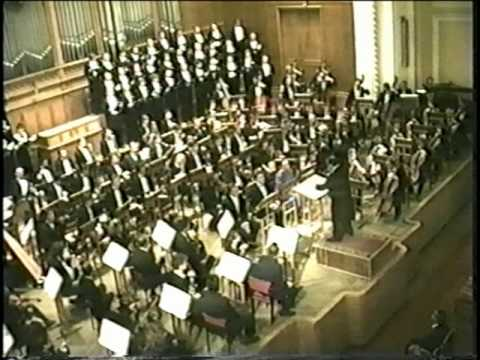 Rachmaninoff The Bells, Symphony Orchestra of Russia, Joel Spiegelman, conductor, Soloists, Marina Lapina & Vladimir Bukin, Bolshoi Theatre, withYurloff Choir, performed in Moscow, 29 9 1992