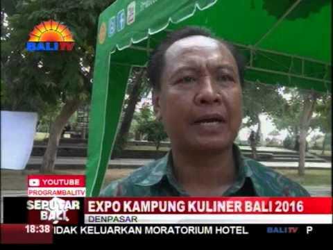 EXPO KAMPUNG KULINER BALI 2016