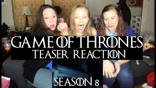 GAME OF THRONES Season 8 OFFICIAL TEASE: Crypts of Winterfell REACTION!!!