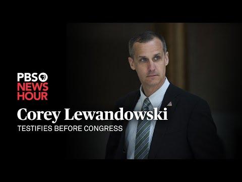 WATCH LIVE: Corey Lewandowski testifies before Congress