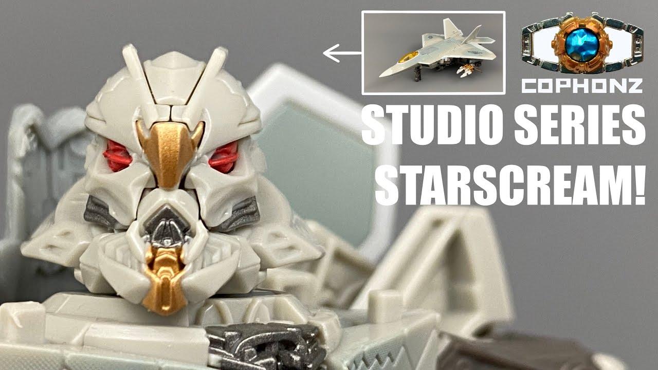 No Words Review of Studio Series 06 Starscream by cophonz