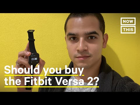 Smart Watch Review: Is the FitBit Versa 2 the Smart Watch For You? | Tech Review | NowThis