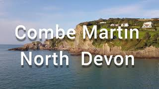 Holiday 2020 in Devon &Cornwall England Part 1 Combe Martin|A beautiful Place to visit