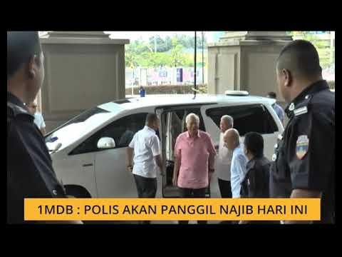 1MDB: Polis akan panggil Najib Razak hari ini