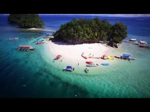 Britania Islands in Surigao del Sur