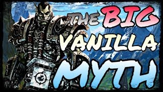 """Vanilla has been theorycrafted to oblivion"" - Classic WoW MYTHS"