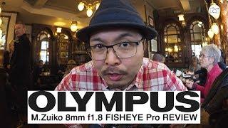 Olympus M.Zuiko 8mm f1.8 FISHEYE Pro - RED35 Review