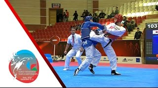 [SEMI FINAL] MALE Team | KOREA vs. BELGIUM / 2016 WTF World Taekwondo Team Championships