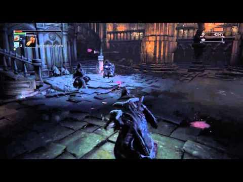 Bloodborne PvE - Sage Freke (Arcane/Skill Build) Vs Yahar'Gul Hunter Trio (3v1)