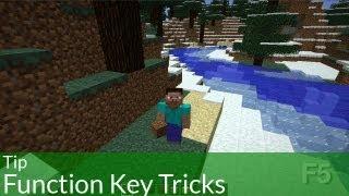 Tip: Function Key Tricks in Minecraft
