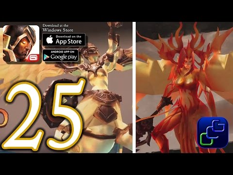 Dungeon Hunter 5 Android IOS Walkthrough - Part 25 - Solo Bounty 26-27