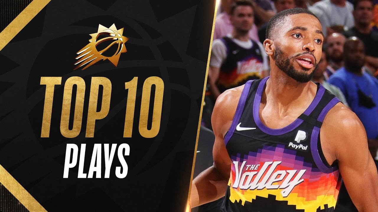 🍿 Top 10 Mikal Bridges Playoff Plays of the Year! ♨