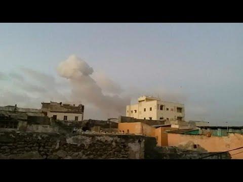 Dupla explosao mortal em Mogadíscio