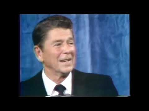 Reagan election night victory speech in Los Angeles 1980 from NBC