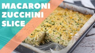 Macaroni Zucchini Slice   Good Chef Bad Chef S10 E28