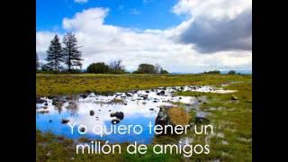 Un millon de amigos Roberto Carlos Con letra y