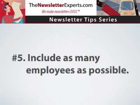 Employee newsletters - 7 simple ways to improve your company newsletter