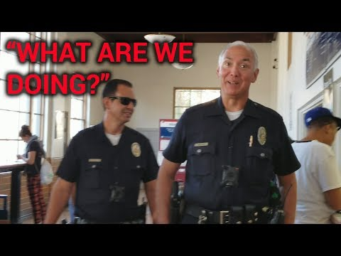 "NORTH HOLLYWOOD POST OFFICE ""WHAT ARE WE DOING?"" Officer Wlkin LAPD"
