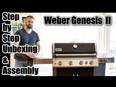 How to Assemble a Weber Genesis II Grill (Step by Step of E435 Model)