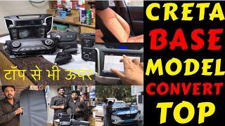 Gambar cover CRETA BASE MODEL CONVERTED INTO TOP MODEL | CRETA MODIFICATION | EXTERIOR | STEREO | Rahul Singh