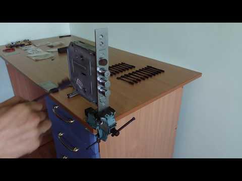 Самоимпрессия BORDER   Вскрытие замка БОРДЕР 6+6 с помощью самоимпрессии