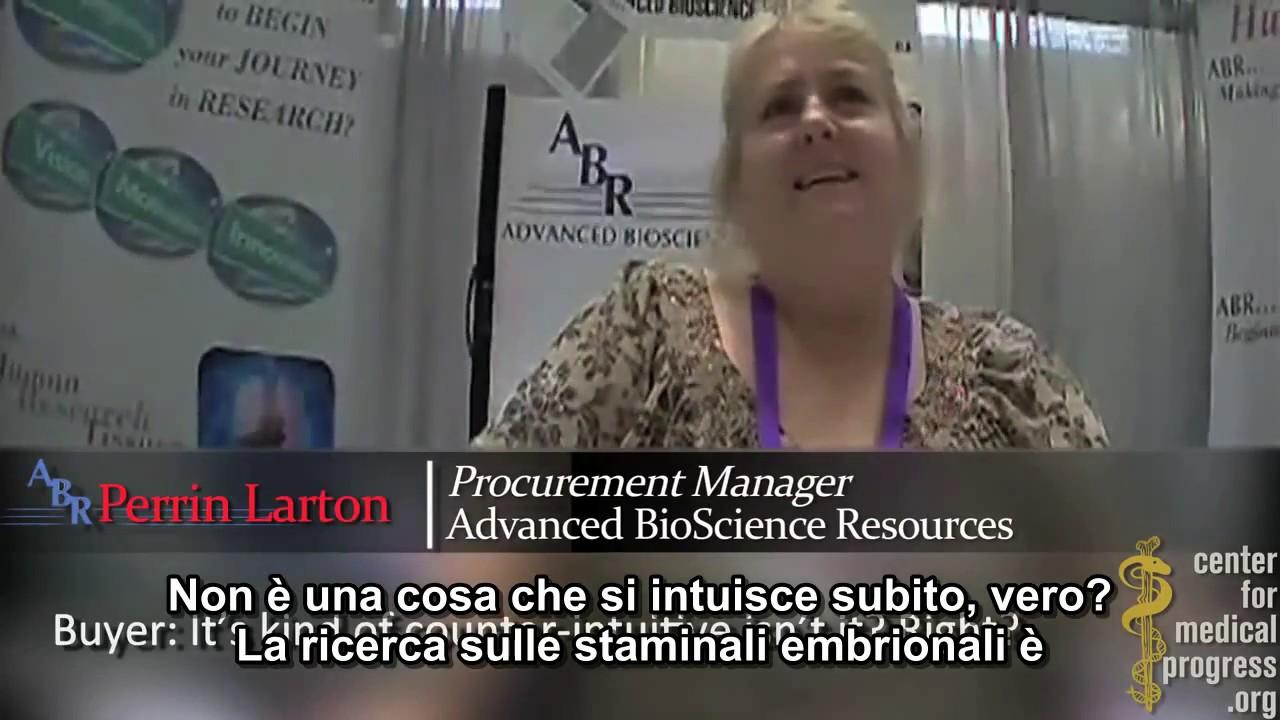 Dirigenti di StemExpress e ABR rivelano i segreti del traffico di organi di bambini abortiti