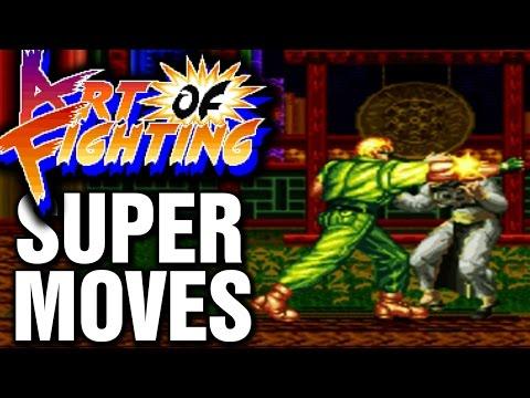 Art Of Fighting Super Desperation Moves SNES Super Nintendo Ryuuko No Ken