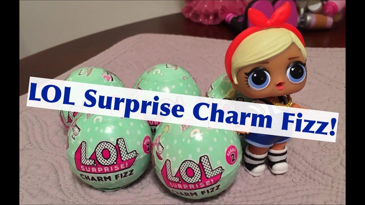 New L O L Lol Surprise Charm Fizz Balls Series 2 Opening