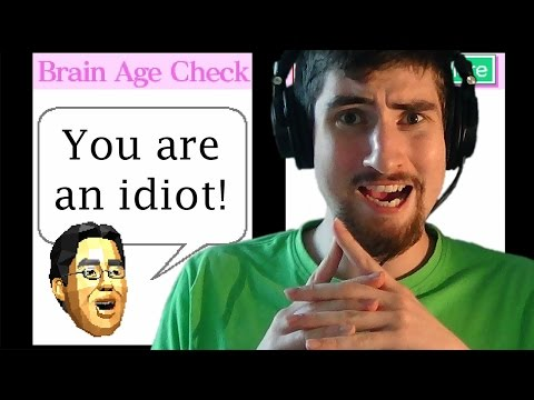 How Dumb Is My Brain? - Let's Play Dr. Kawashima's Brain Training: How Old Is Your Brain?