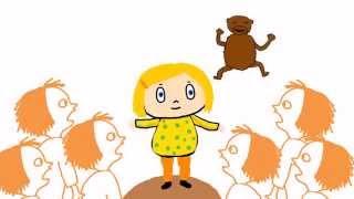 Tänk om jag hade en liten apa - animerad sång för barn