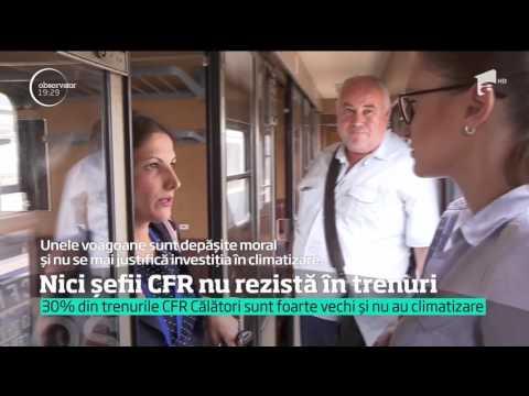 O călătorie cu trenul îi îngrozeşte chiar şi pe şefii din CFR