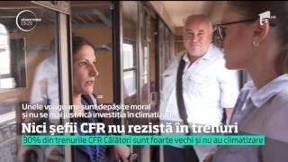 O calatorie cu trenul ii ingrozeste chiar si pe sefii din CFR