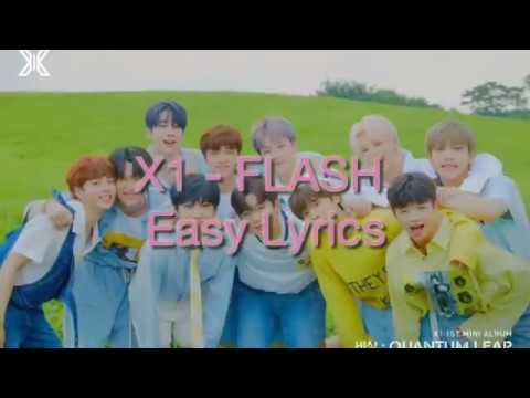 x1---flash-(easy-lyrics)-|kpop-fandom-area|-x1---flash-lirik