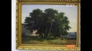 100ТВ.Нашлась картина Ивана Шишкина, написанная на Валааме в 1858 г.(5.08.13)