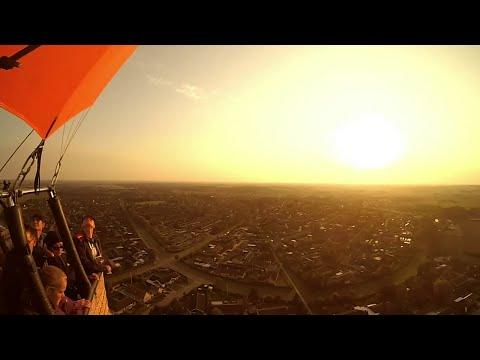 Low ballooning over Denmark
