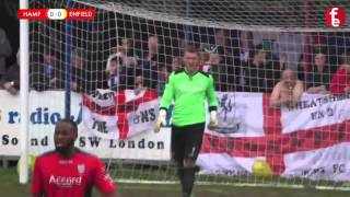 Hampton & Richmond Borough 0-0 Enfield Town | Match Highlights