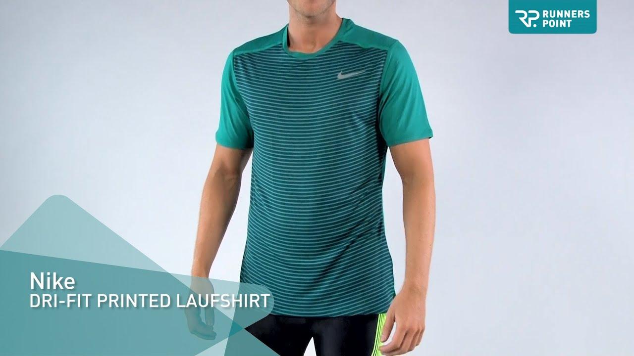 Nike Dri Fit Racing Printed Short Sleeve Shirt Youtube