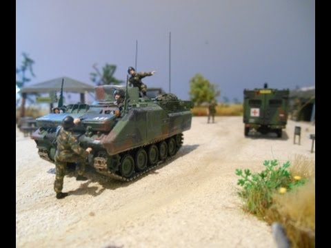 military modelling diorama 1 87 scale youtube. Black Bedroom Furniture Sets. Home Design Ideas