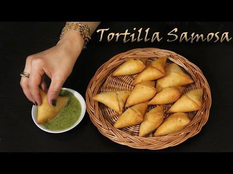 Tortilla Samosa Recipe | No Dough Samosa Recipe | Veg Snacks Starter & Appetizers for Parties Shilpi