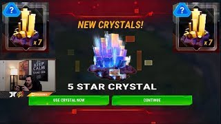 Opening 7 Four Star Crystals + 5 STAR Crystal Transformers Earth Wars