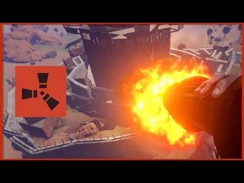 Rust Raids: ROCKET TOWER PRECISION