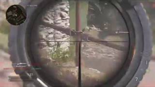 Call Of Duty WW2 Sniping clips