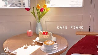 Sweet Piano Cafe Music  Acoustic Smooth Piano BGM, Coffee Shop Music Playlist  Study Music