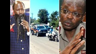 Prophet Owuor's security catches Boinnet's eye