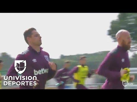 'Chicharito' vuelve a Old Trafford, pero con el West Ham